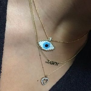Jewelry - 🆕 Beaded eye boho necklace